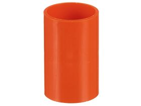 Orange Heavy Duty Conduit Coupling 63mm
