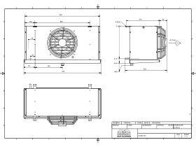 Cabero Evaporator Medium Temperature CH4D1-35-1