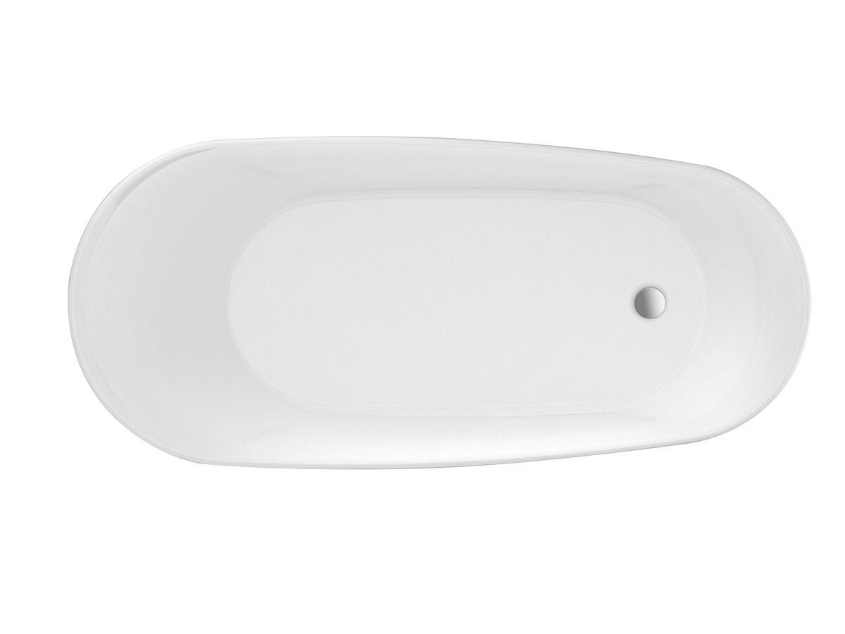 Kado Neue Freestanding Bath 1730 x 780 x 730mm Matte White