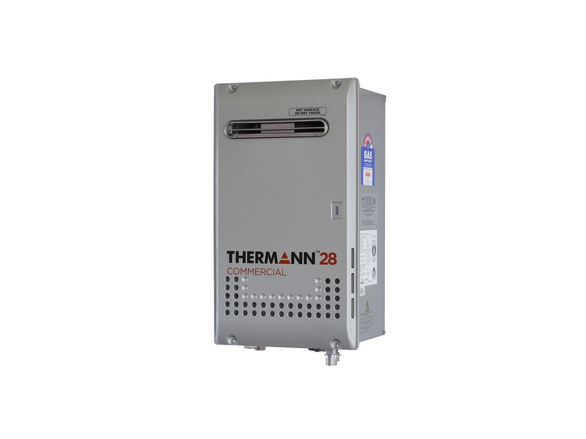 Thermann Commercial Continuous Flow Hot Water Unit External 28ltr