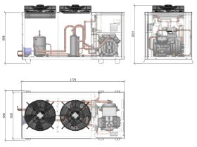ACPAC Packaged Condensing Unit APS25.8ML2-1