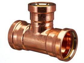 >B< Press Gas Reducing Tee 80mm x 80mm x 65mm