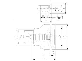 Coolfit 4.0 Flange Adaptor Pe100