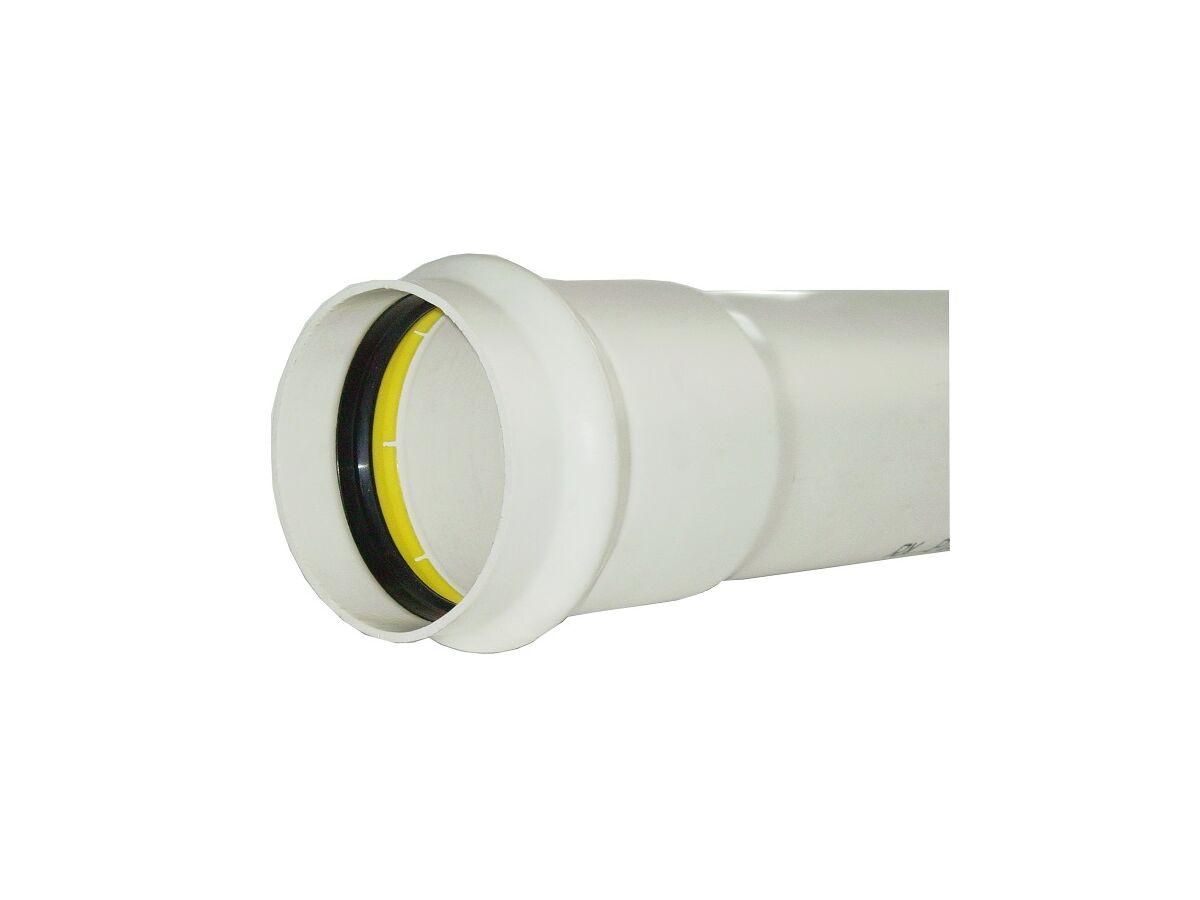 DWV SN16 UPVC H/Wall Pipe 6mtr RRJ