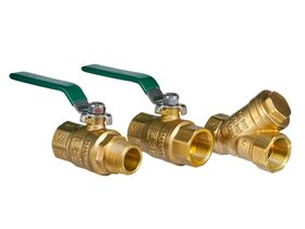 Wilkins Backflow Double Check Valve with Ball Valve 20mm