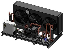 Tecumseh Semi Hermetic EVO Condensing Unit SHT4620ZHR 3 Phase