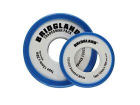 Bridgland White PTFE Tape 12mm x 30mtr