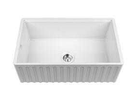 Memo Harper Single Bowl Butler Sink Fireclay