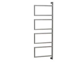 Kado Aspect Swivel Heated Towel Rail 400mm x 1235mm Chrome