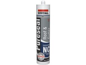 Soudal Pureseal Roof & Gutter Neutral Silicone Grey 300g