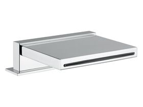 Solido Bench Mounted Waterfall Bath Outlet Chrome