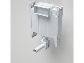 Forma Invisi Back to wall Toilet Suite with Adjustable Flush Pipe Less Buttons White (4 Star)