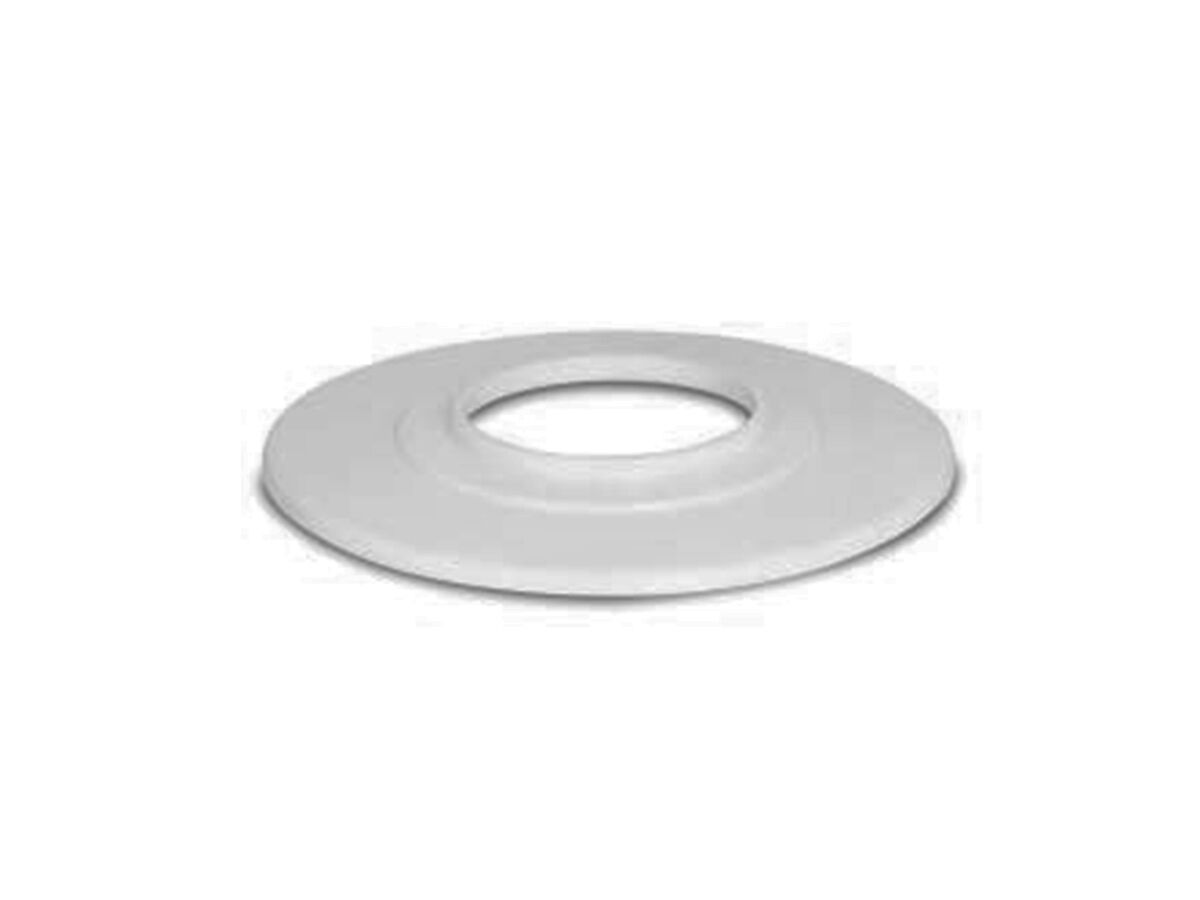 PVC Round Cover Plate Flange White 50mm