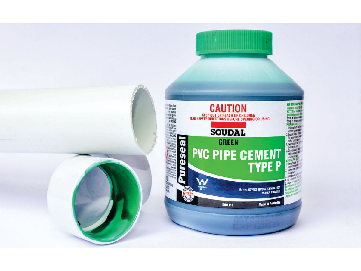 Soudal Pureseal Solvent Cement Type P Green 500ml