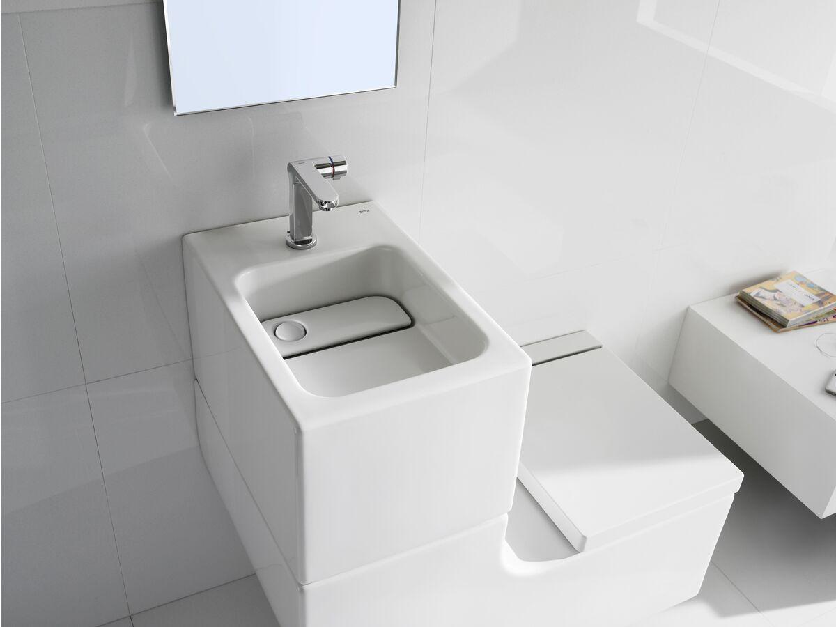 Roca W + W Integrated Washbasin White (5 Star)