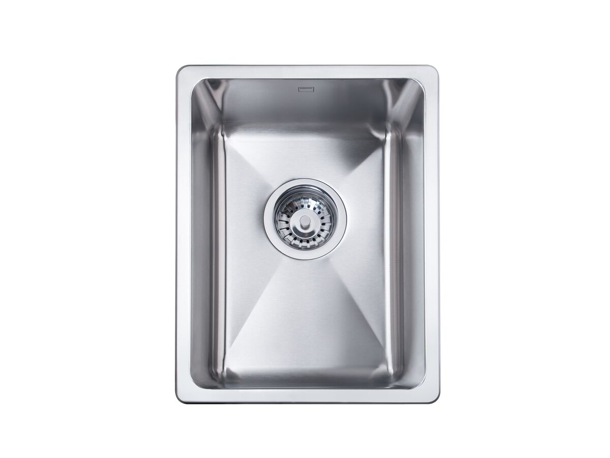 Memo Hugo Compact Sink No Taphole Stainless Steel