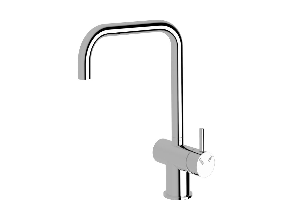 Scala Sink Mixer Large Square Spout Right Hand Chrome (4 Star)