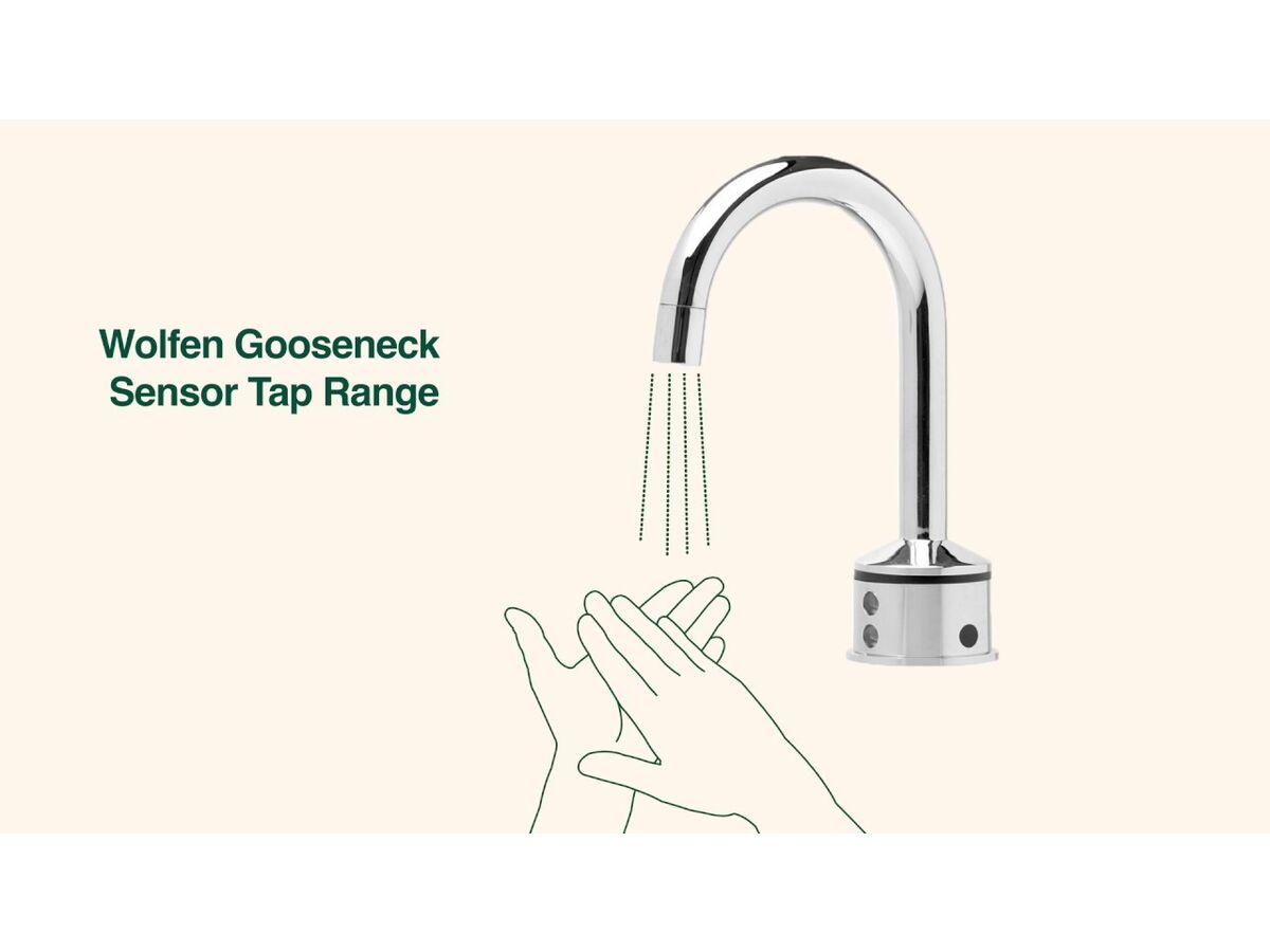 Wolfen Gooseneck Sensor Tap Range