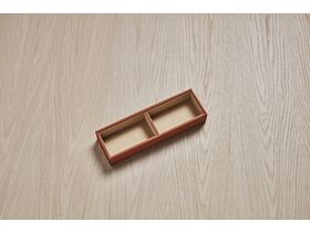 ISSY by Zuster Tray Insert Duo 90mm x 290mm x 50mm