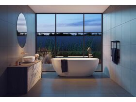 Kado Lussi Freestanding Bath and Vessel Basin
