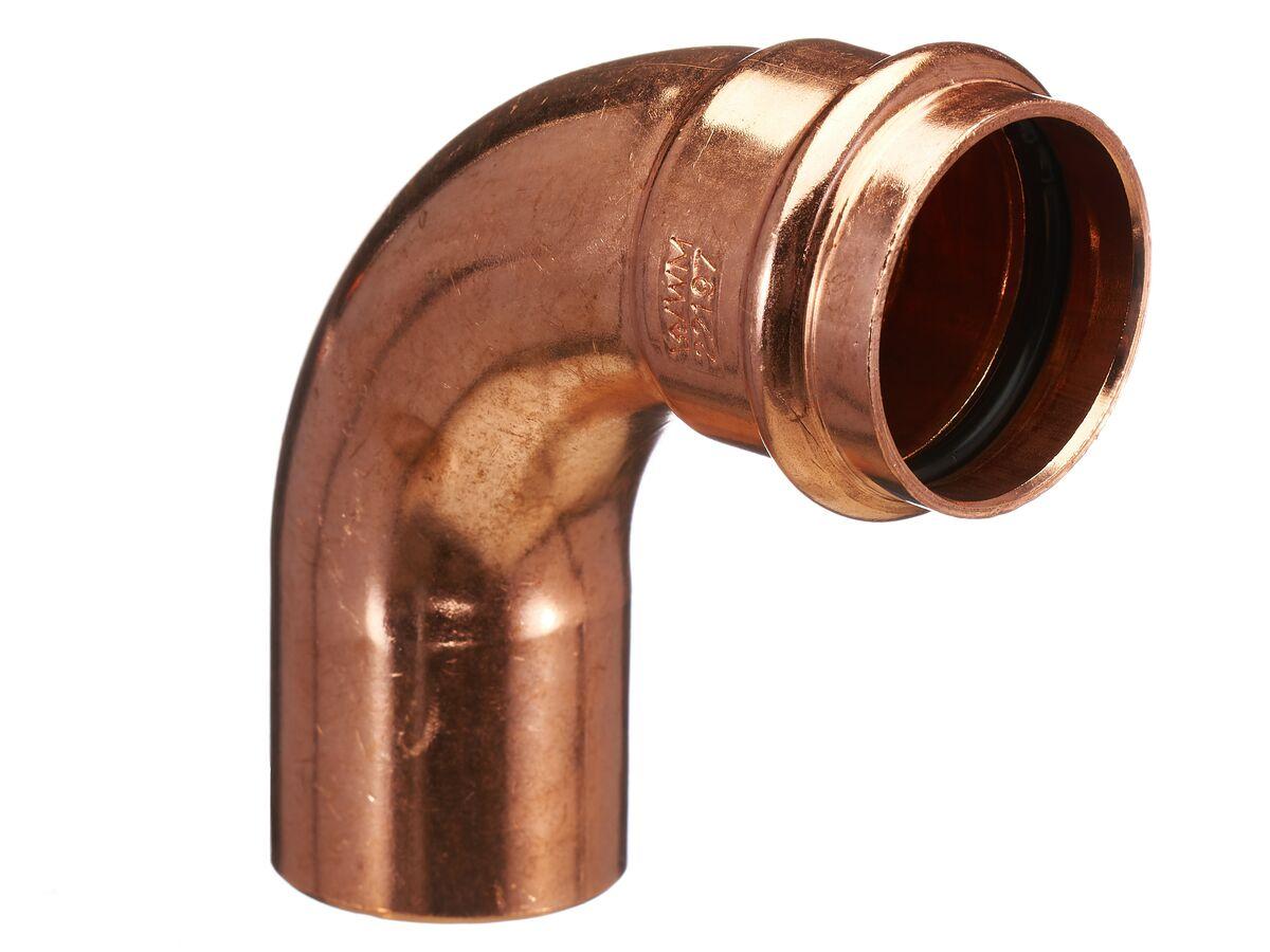 >B< Press Water Elbow Male & Female 90 Degree x 40mm