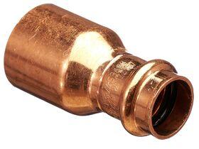 >B< Press Water Fitting Reducer 32mm x 20mm