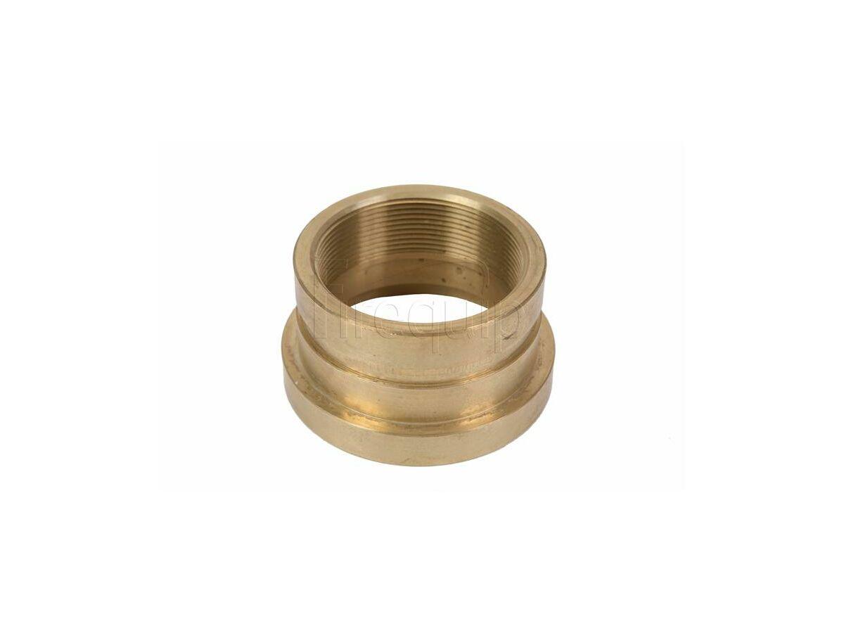 Rolled Groove BSP Copper Adaptor 100Cu x 80mm x 65F