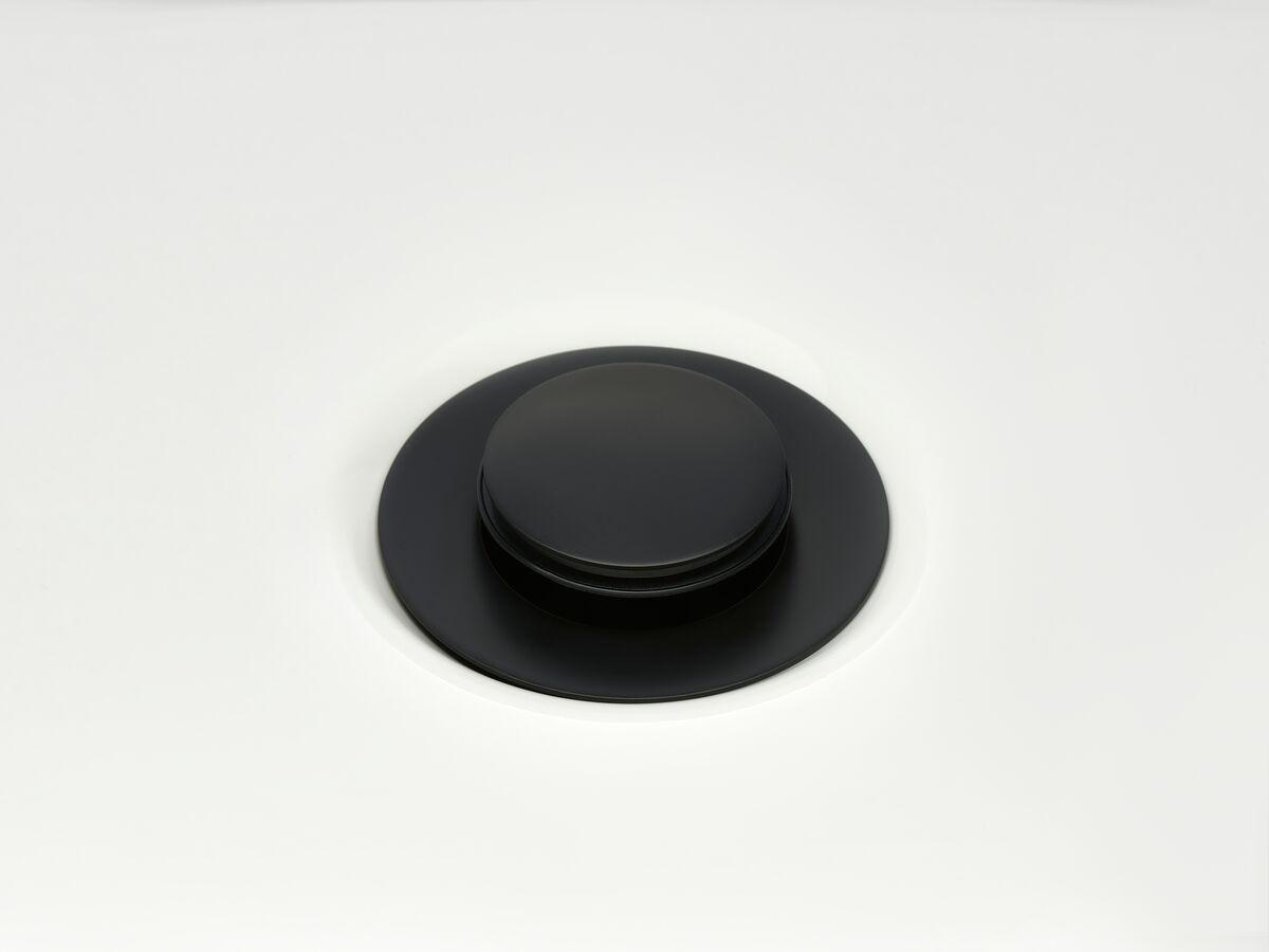 Mizu Drift Uni DN40 Pop Up Plug & Waste Matte Black