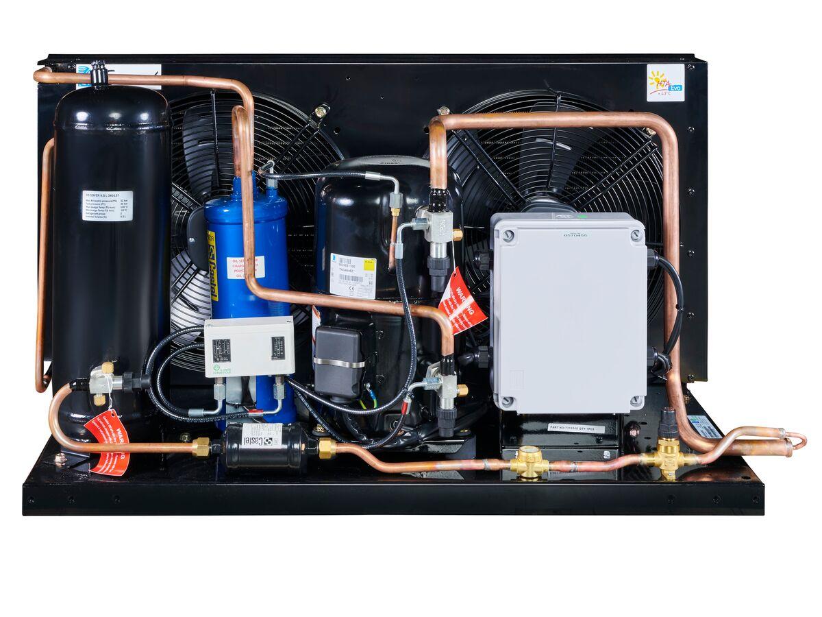 Tecumseh EVO Condensing Unit 4hp R404 MHBP EPCH4546Z-3 Phase