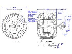Hub Mount Fan Motor 415V 50D509-11At
