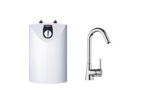 STIEBEL ELTRON SNU 5 + MES-G Mixer - Open Vented Compact Storage Water Heater