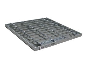 Everhard 300mm Stormwater Pit Grate Only Light Duty Galvanized