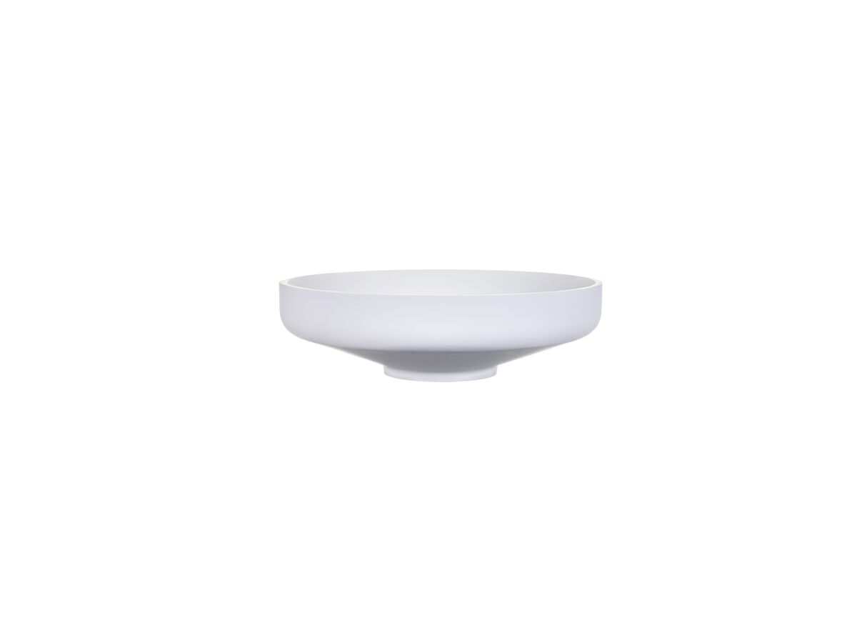 Venice 450 Counter Basin Solid Surface White