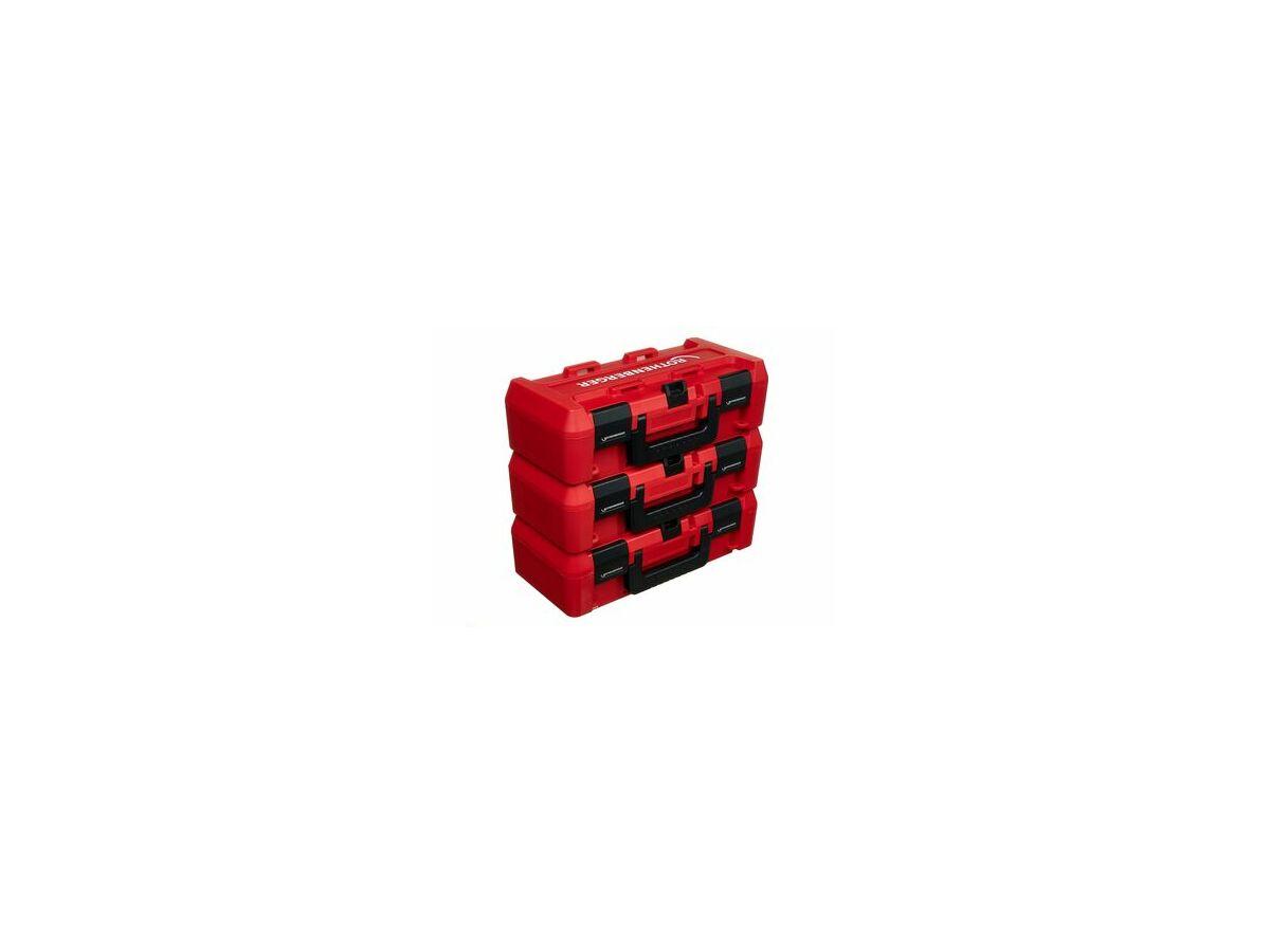 R/Berg Rocase 4212 Small (No Inlay) three stacked