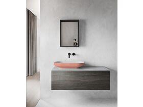 Venice 700 Counter Basin Solid Surface Softskin Blush