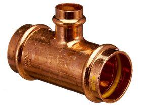 >B< Press Gas Reducing Tee 40mm x 40mm x 20mm