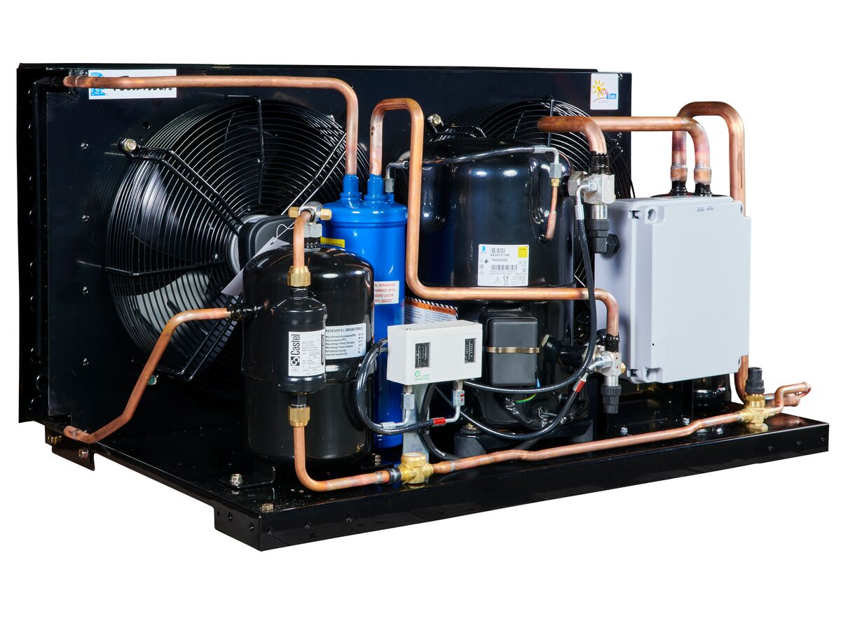 Tecumseh EVO Condensing Unit 5.5hp R404 LBP EPCL2522Z-3 Phase