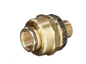 Union Barrel Male & Female Brass 15mm