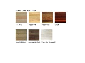 Timber Top Colours