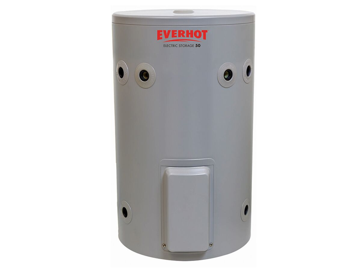 Everhot Electric Hot Water Unit Single Element 50Ltr