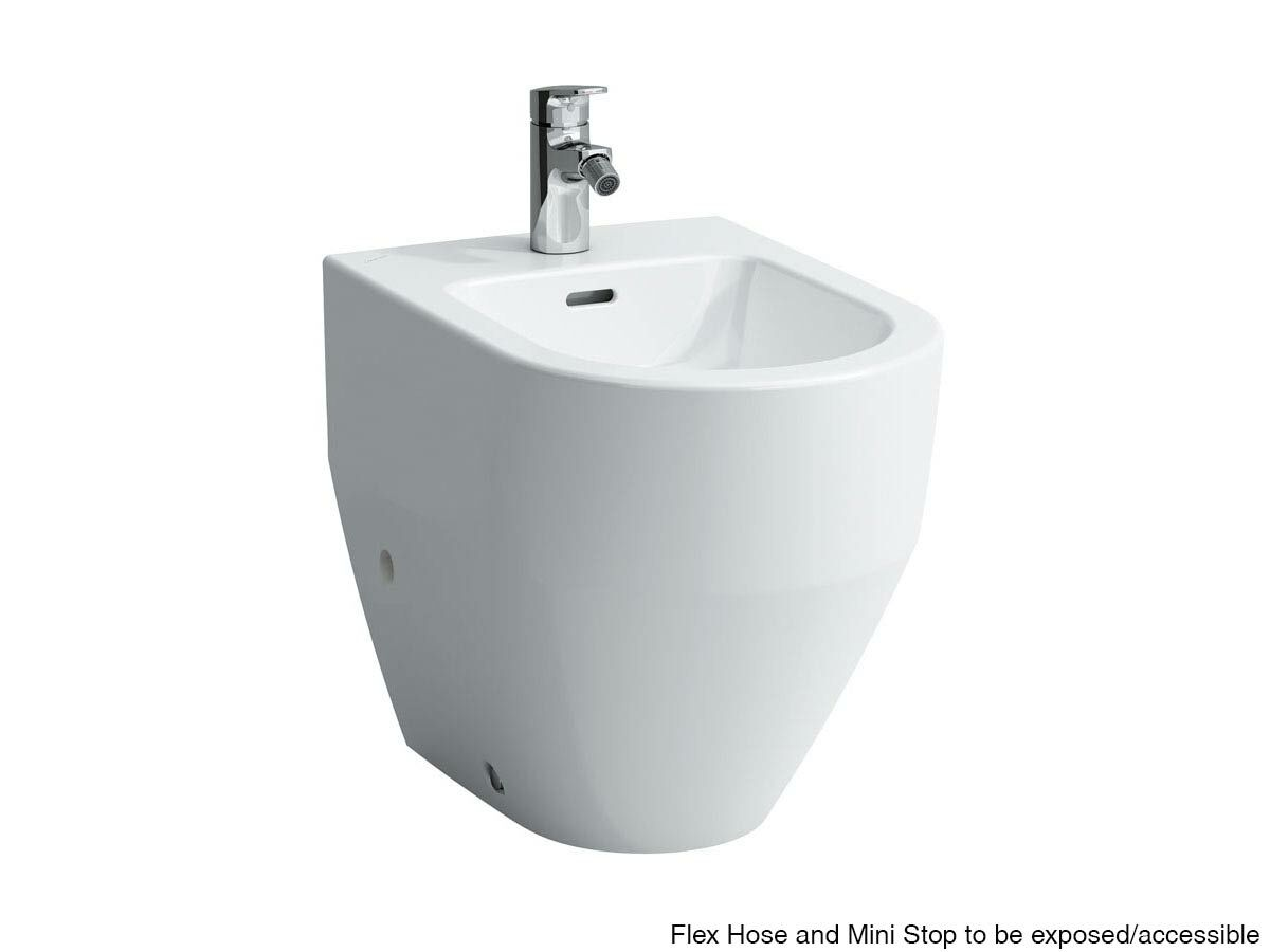 Laufen Pro A Back to Wall Bidet 1 Taphole White