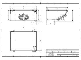 Cabero Low Profile Evaporator Medium Temperature LPC4E1-30-1
