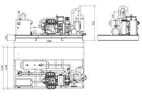 Tecumseh Semi Hermetic Receiver Unit SHR4639ZHR