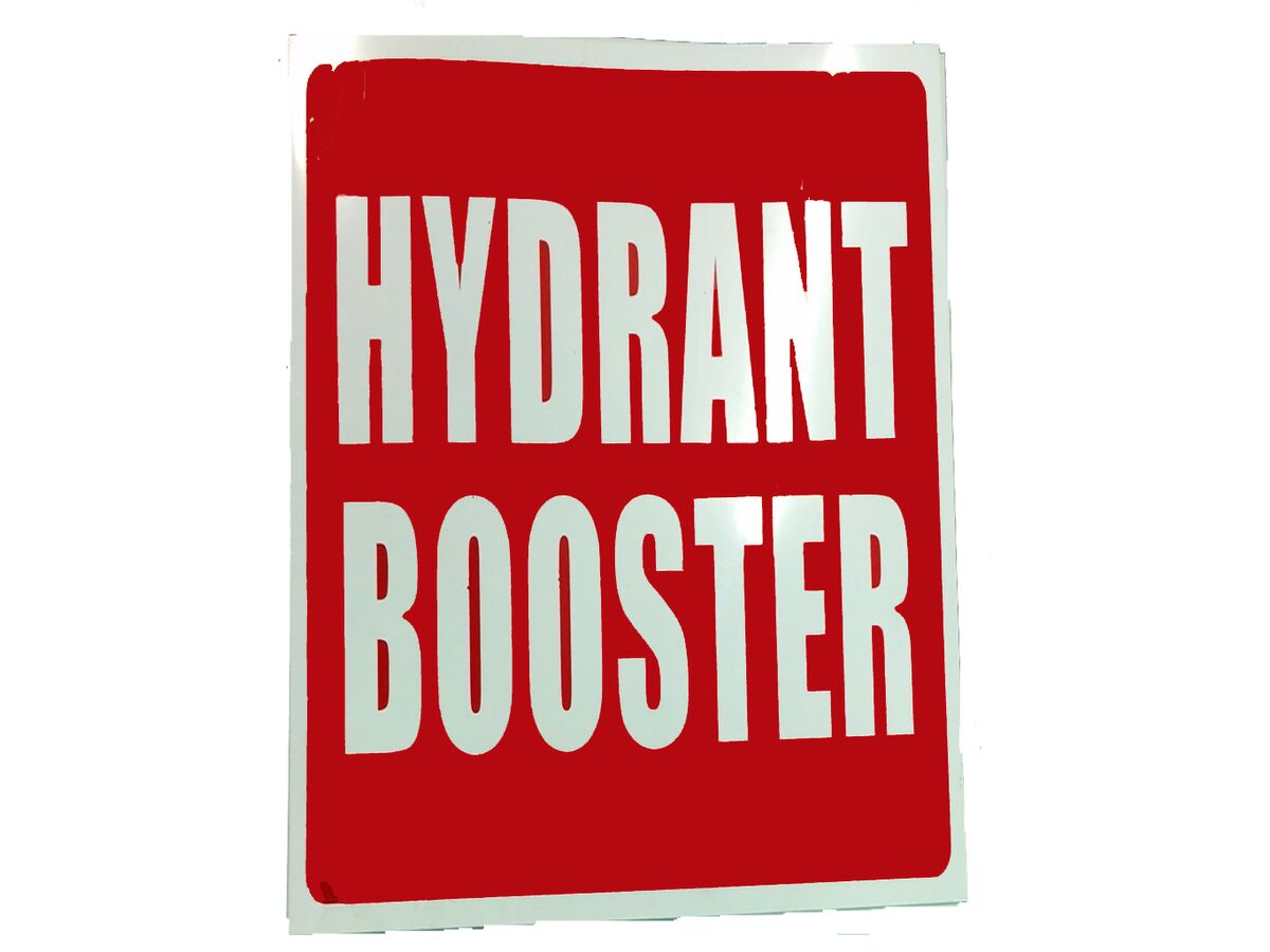 Location Signs - Hydrant Booster Plastic