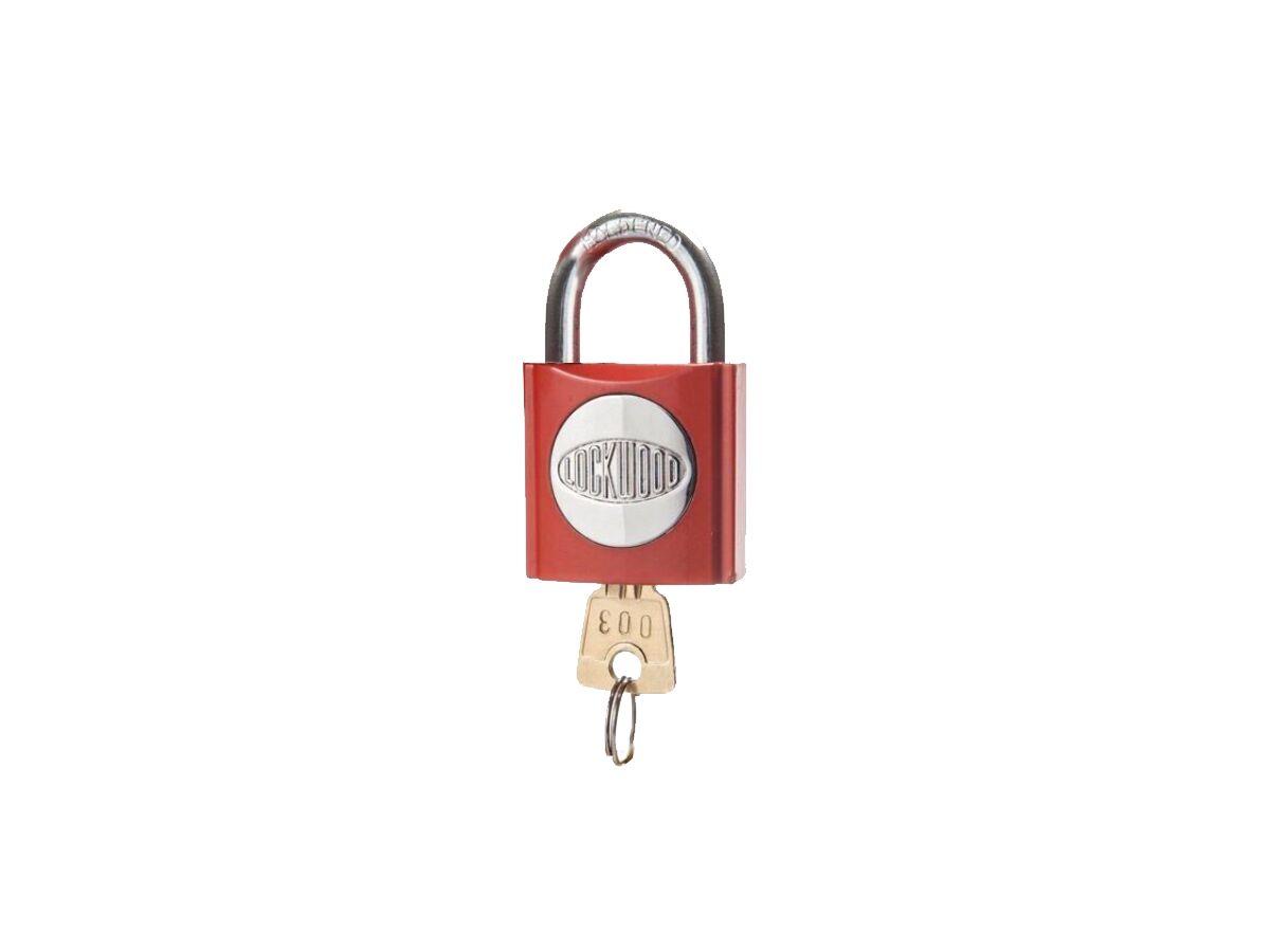 Fire Service Lock (003) Red