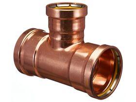 >B< Press Gas Reducing Tee 100mm x 100mm x 80mm
