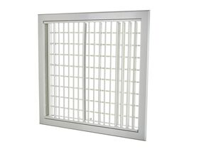 Aluminium Wall Register with Removable Core