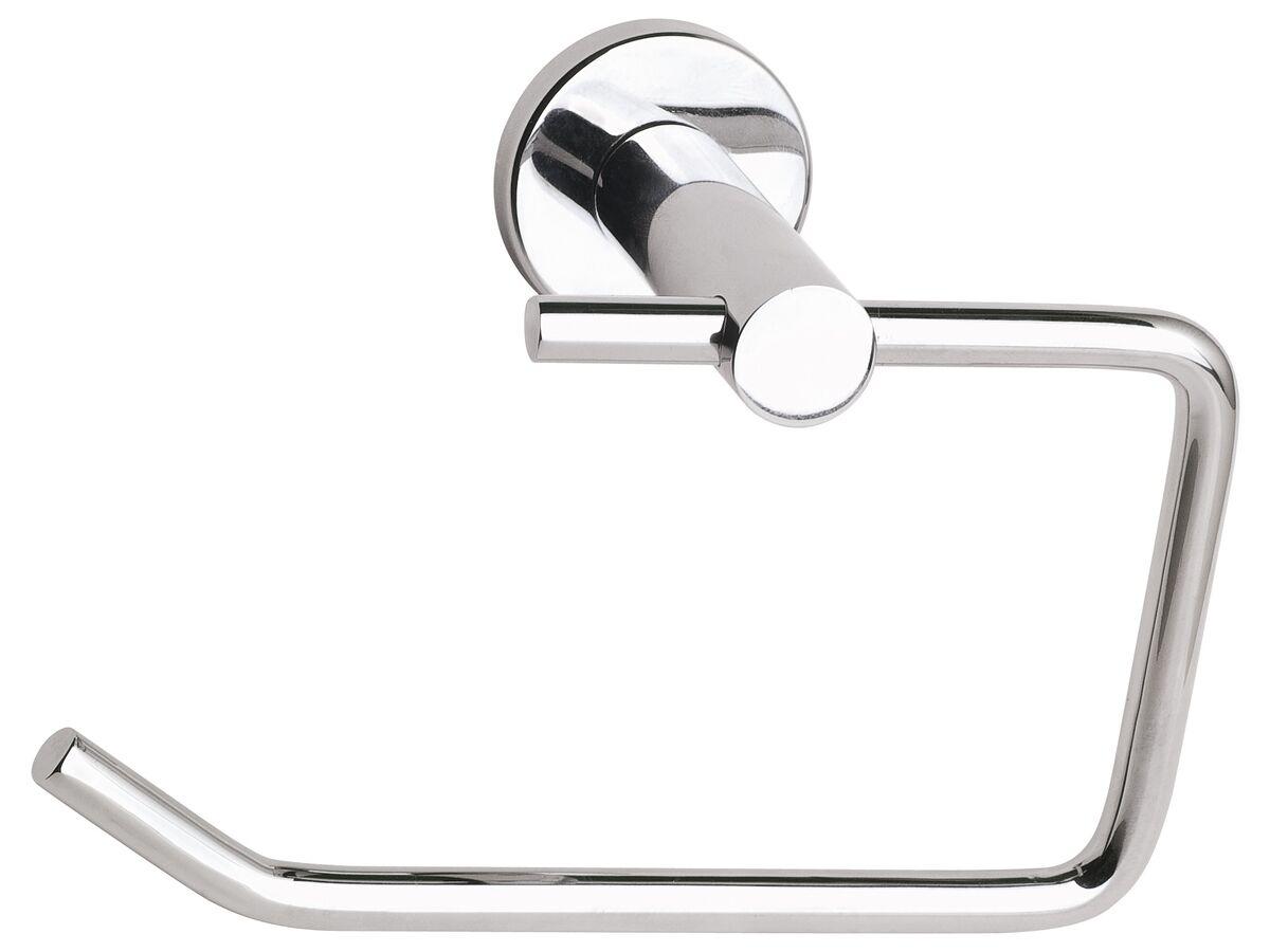 Mizu Drift Loop Toilet Roll Holder Chrome