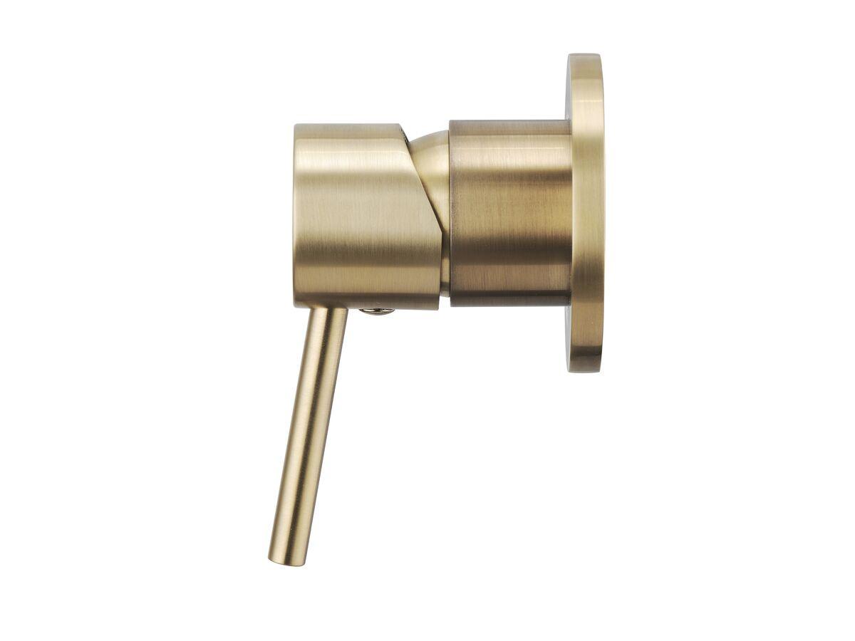 Mizu Drift MK2 Shower Mixer Tap Brushed Gold