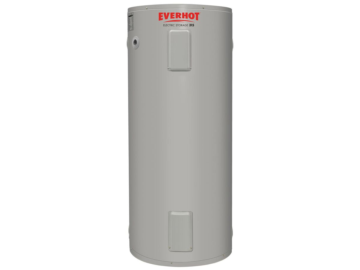 Everhot Electric Hot Water Unit Twin Element 315Ltr